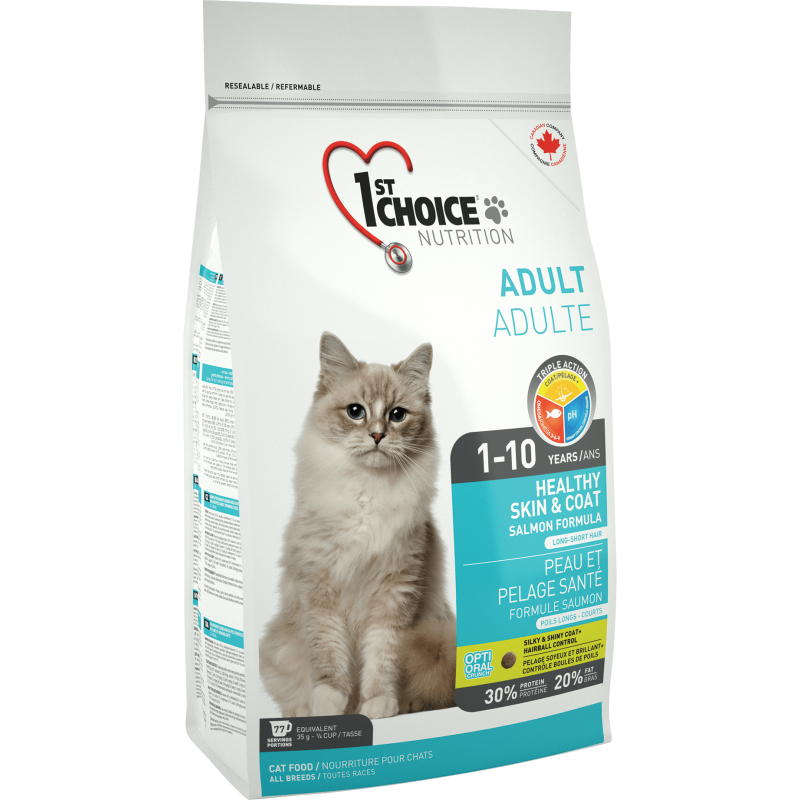 1St Choice Cat Adult Skin&Coat 350 g