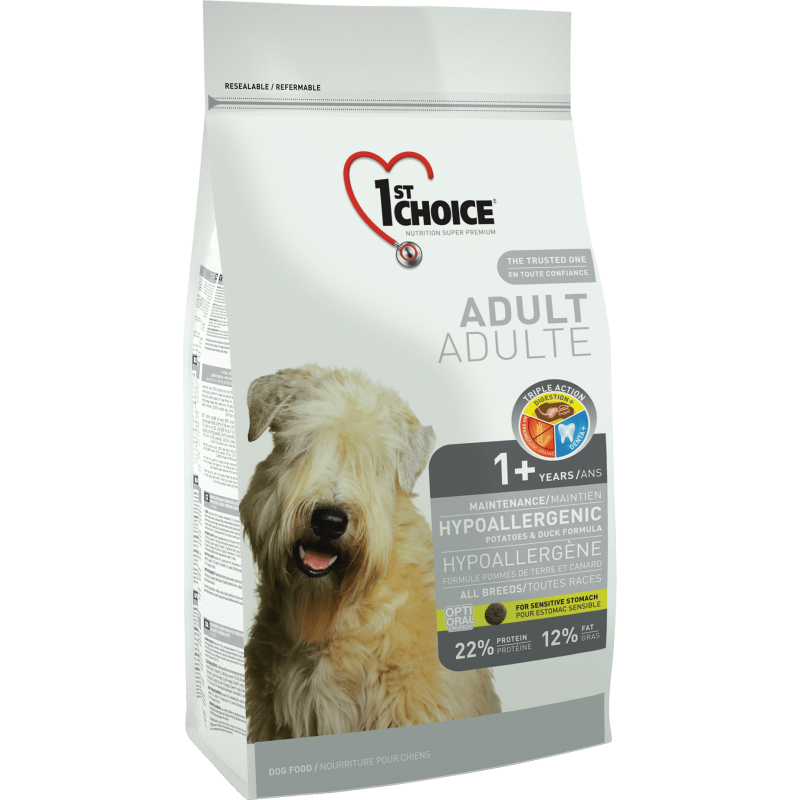 1St Choice Dog Adult All Breeds Hypoallergenic 350 g