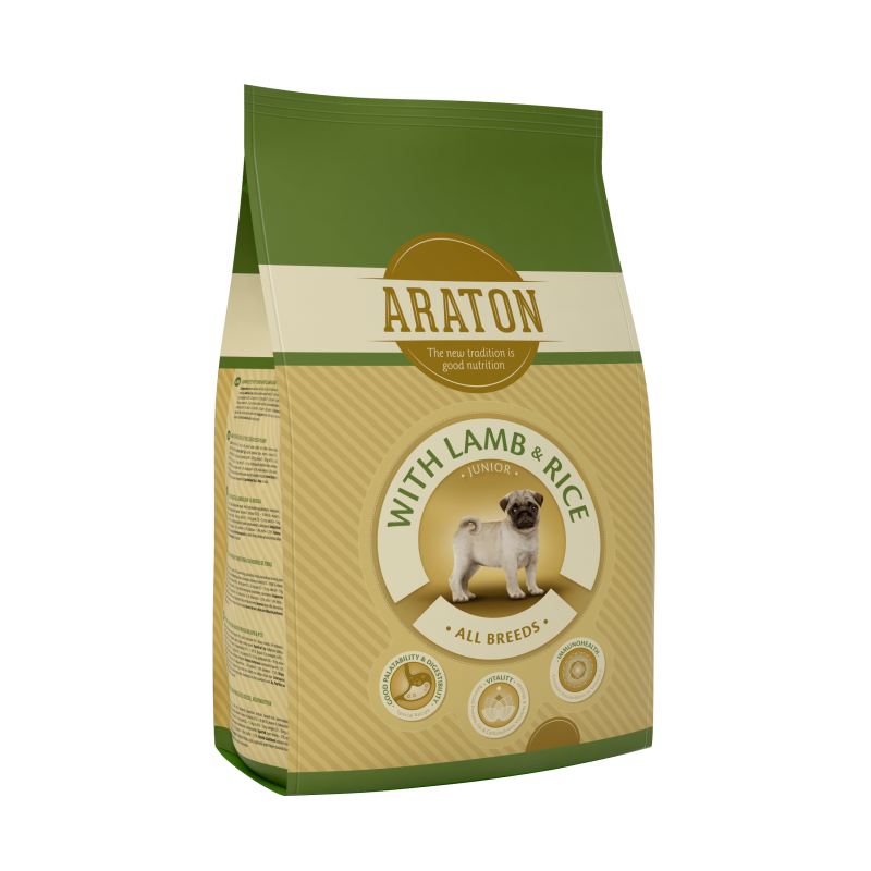 Araton Dog Junior Lamb&Rice 15 Kg