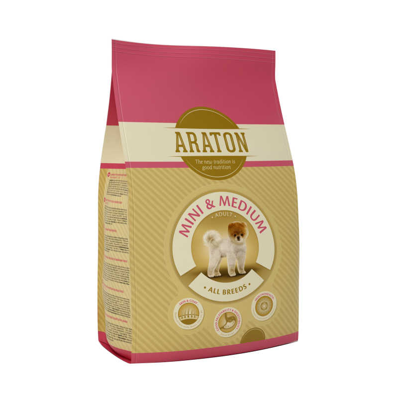 Araton Dog Adult Mini&Medium 15 Kg
