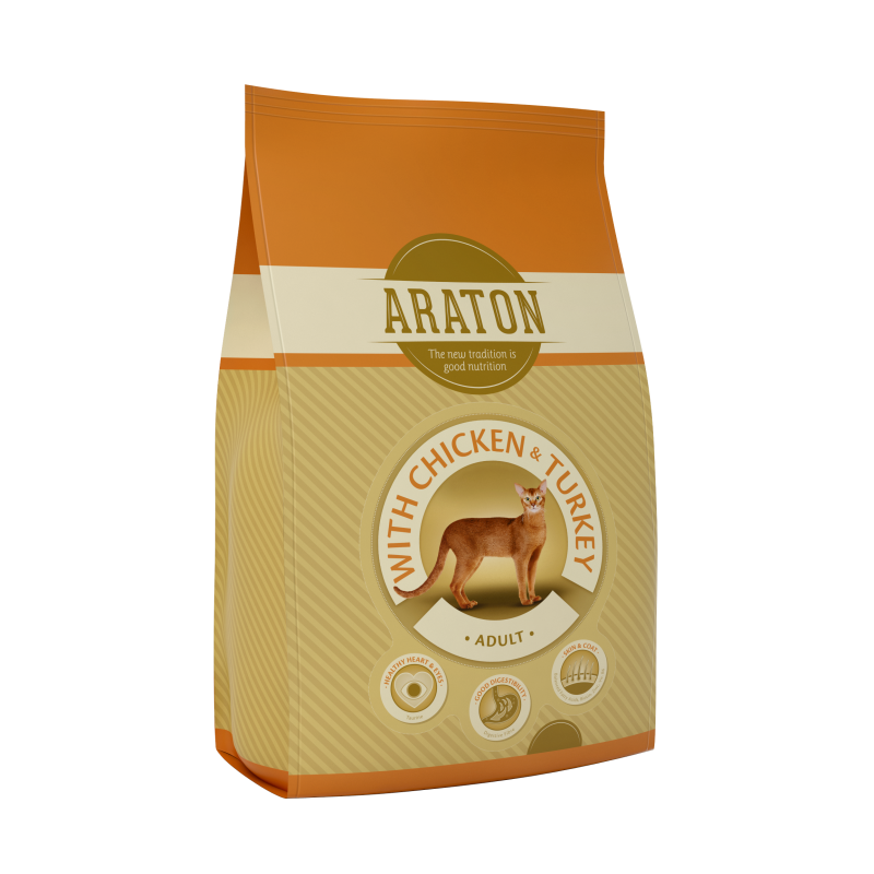 Araton Cat Adult Chicken & Turkey 1.5 Kg