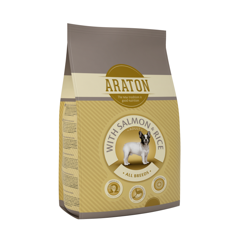 Araton Dog Adult Salmon&Rice 15 Kg