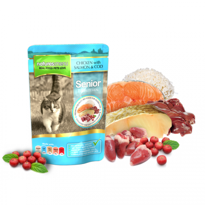NATURES MENU CAT SENIOR (100 gr.)