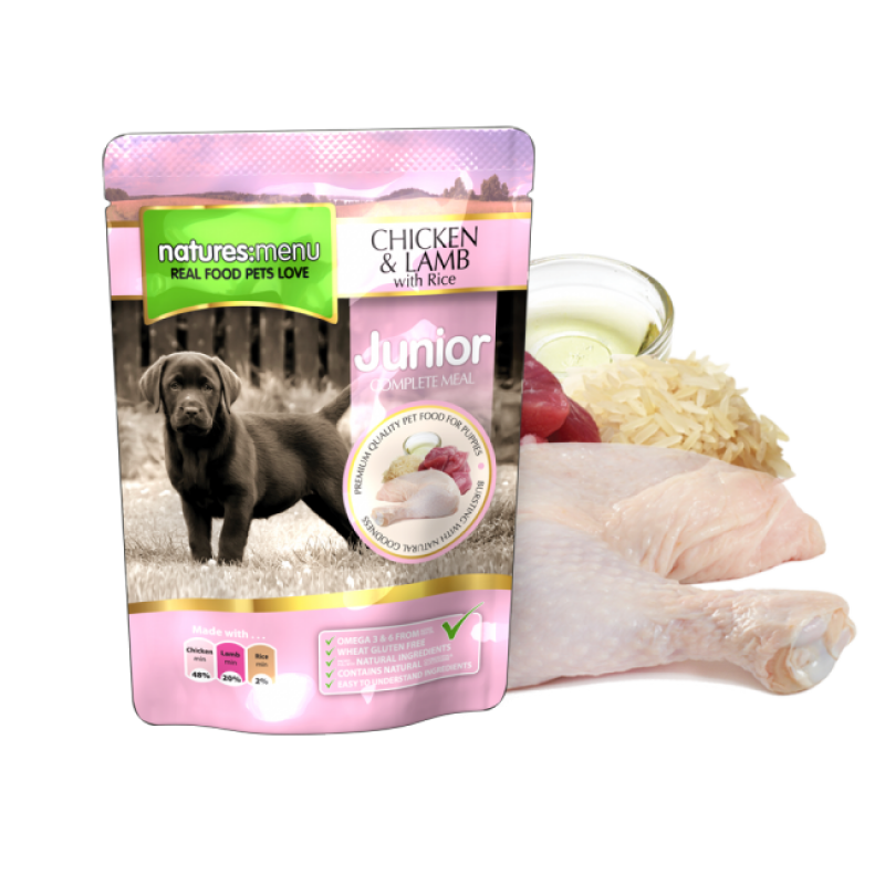 NATURES MENU DOG JUNIOR (300 gr.)