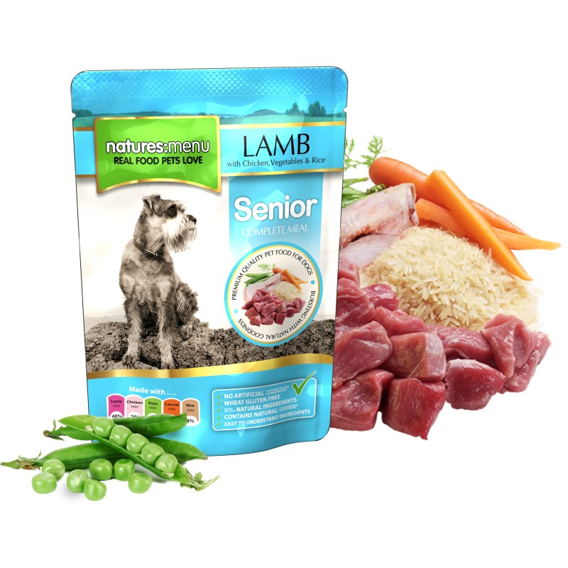 NATURES MENU DOG SENIOR (300 gr.)