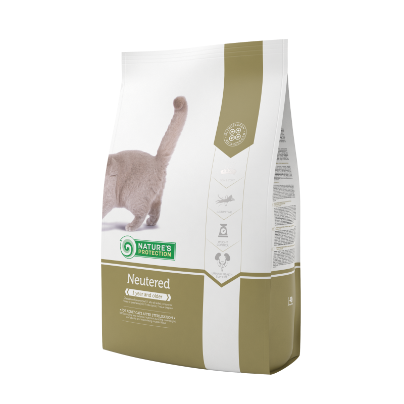 Natures Protection Cat Neutered 400 G
