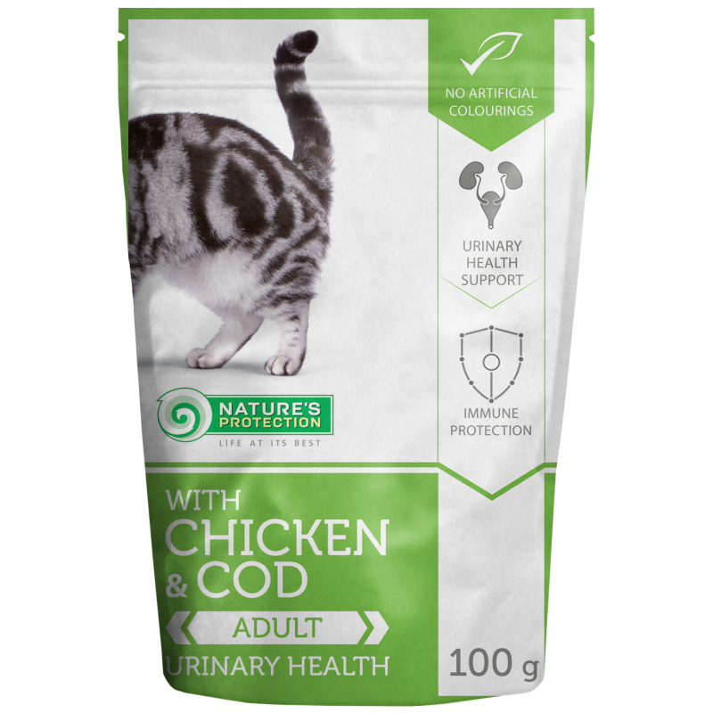 Natures Protection Cat Urinary Health Chicken&Cod 100 G