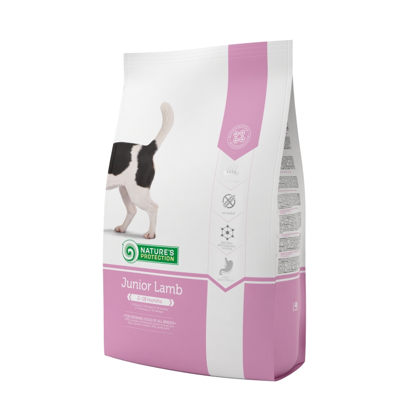 Natures Protection Dog Junior Lamb 500 G