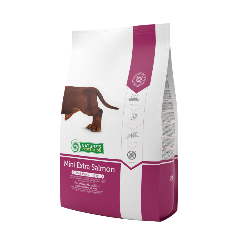 Natures Protection Dog Mini Extra Salmon 7.5 Kg