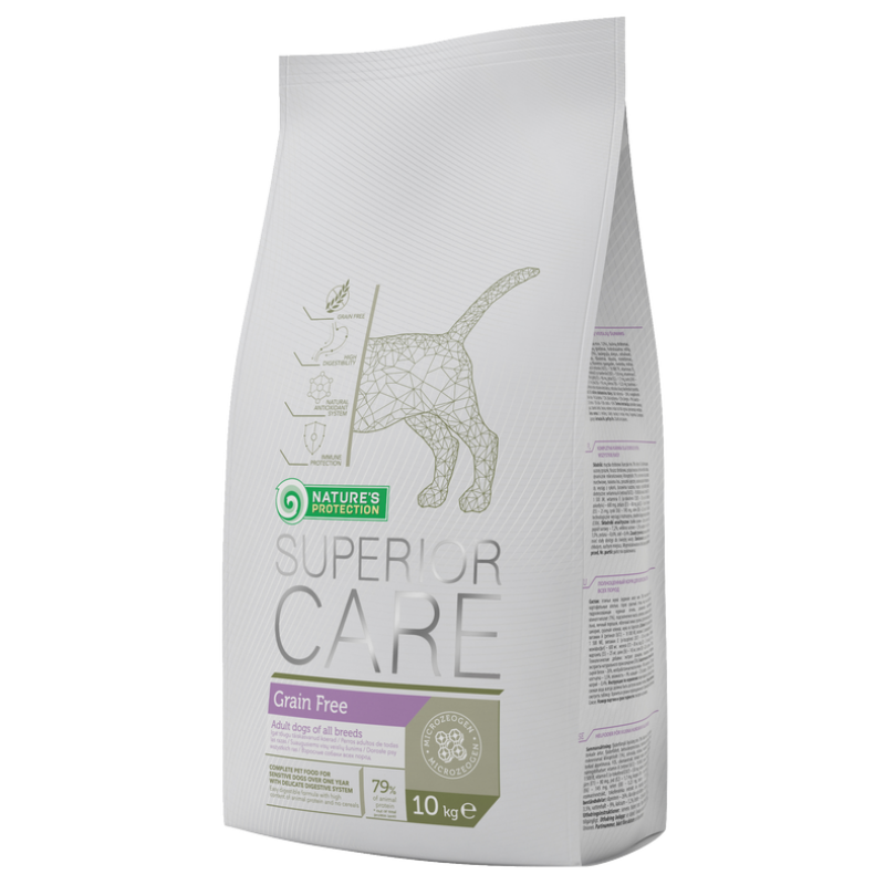 Natures Protection Dog Superior Care  Grain Free 10 Kg