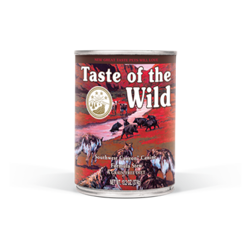 Conserva Taste of the Wild - Southwest Canyon 390 gr.