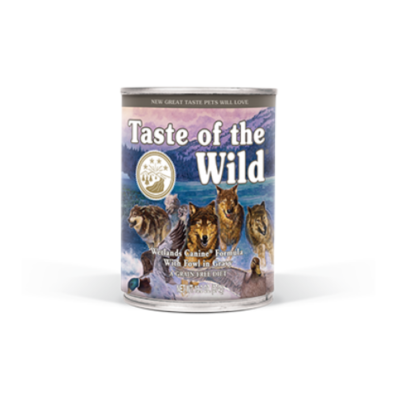 Conserva Taste of the Wild - Wetlands 390 gr.