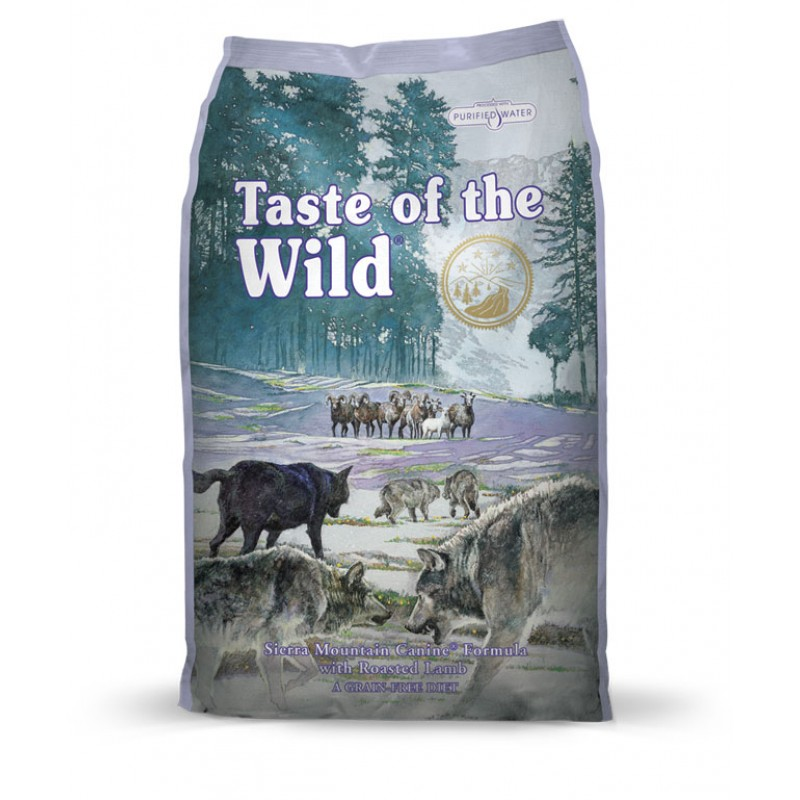 Taste of the Wild Sierra Mountain - 2 Kg