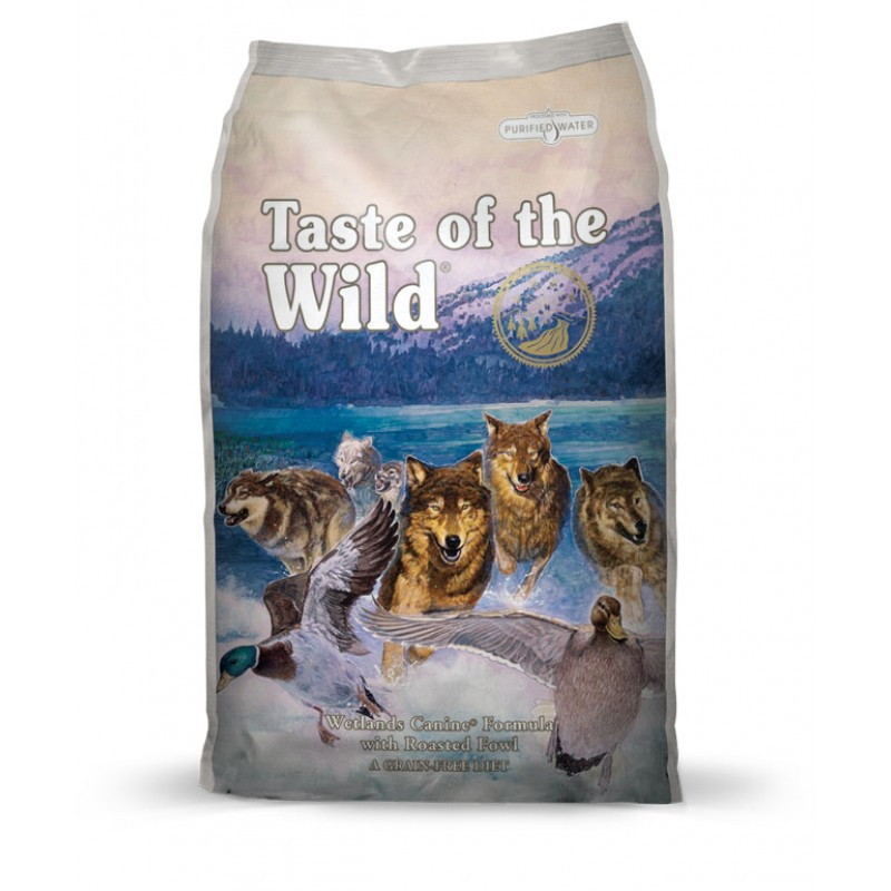 Taste of the Wild Wetlands - 13 Kg
